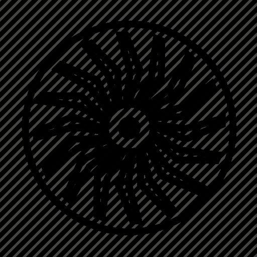 air, air turbine, forecast, turbine, weather icon
