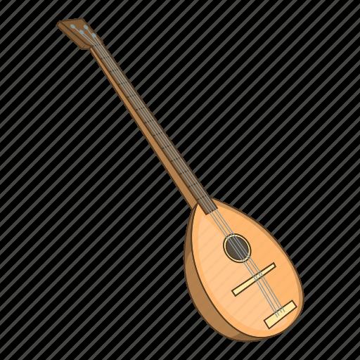 Cartoon, melody, saz, sound, string, turkey, turkish icon - Download on Iconfinder