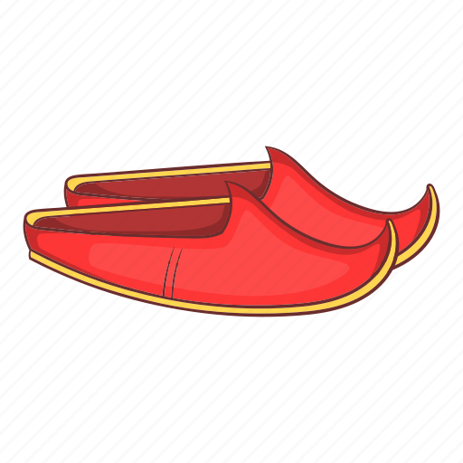 Apparel, arabic, cartoon, shoes, traditional, turkey, turkish icon - Download on Iconfinder