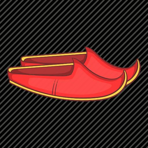 apparel, arabic, cartoon, shoes, traditional, turkey, turkish icon