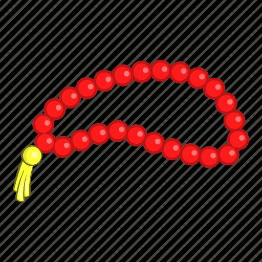 Beads, cartoon, design, necklace, pray, religious, turkish icon - Download on Iconfinder