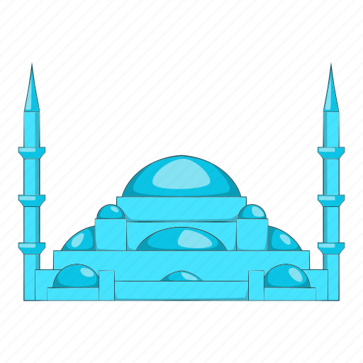 Turkish, muslim, mosque, traditional, culture, cartoon, islam icon