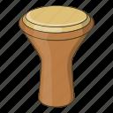 cartoon, classical, drum, instrument, music, musical, turkish icon