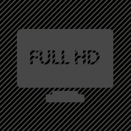 display, hd, smart, television, tv icon