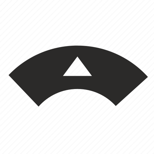 arrow, control, tv, up icon
