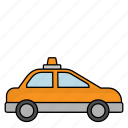 car, transportation, vehicle, taxi