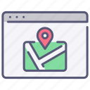 browser, interface, location, map, page, ui, website