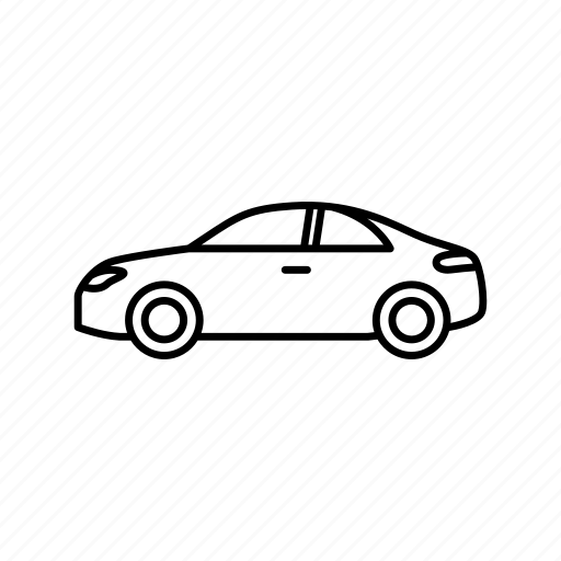 auto, car, coupe icon