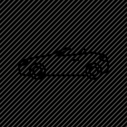 Cabriolet Car Convertible Icon Download On Iconfinder