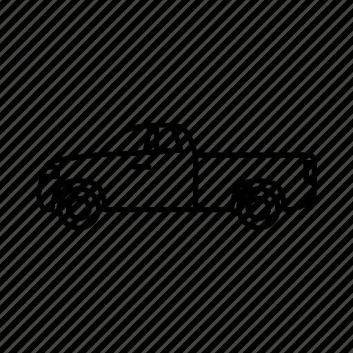 car, pickup, truck icon