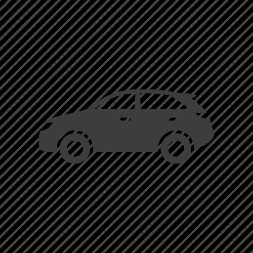 car, crossover, cuv, suv icon