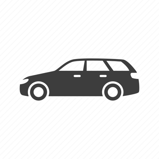 car, suv, wagon icon