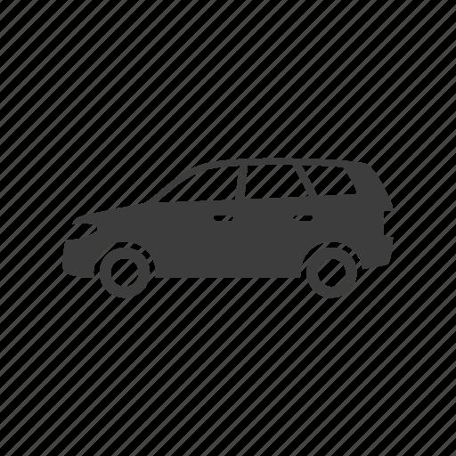 car, mpv, suv icon