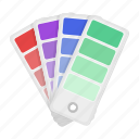 color, industry, pattern, printing, production, standard, typography icon