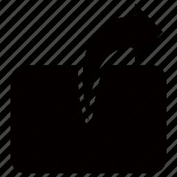 arrow, move, send, transfer, upload icon