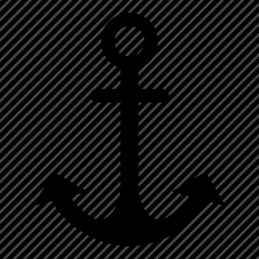 anchor, boat, marine, nautical, sea, ship icon