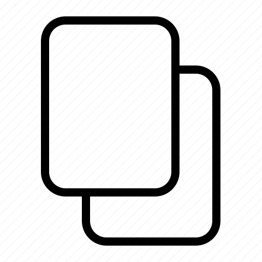 copy, data, document, duplicate, folder icon