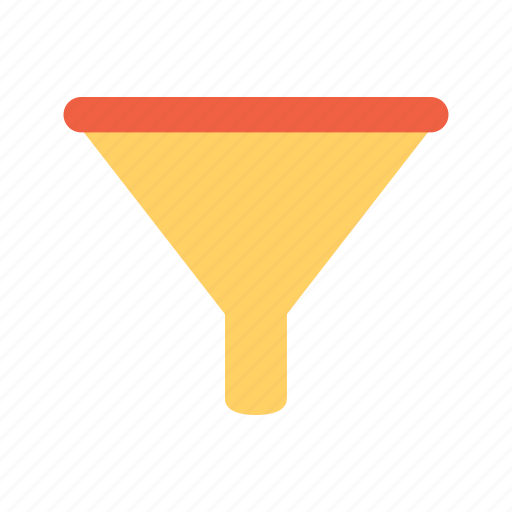 funnel, order, sort icon
