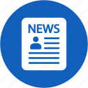 information, internet, news, newspaper, paper icon