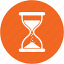 clock, event, sand, stopwatch, timer, wait, watch icon