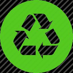 bin, delete, garbage, recycle, remove, renew, trash icon