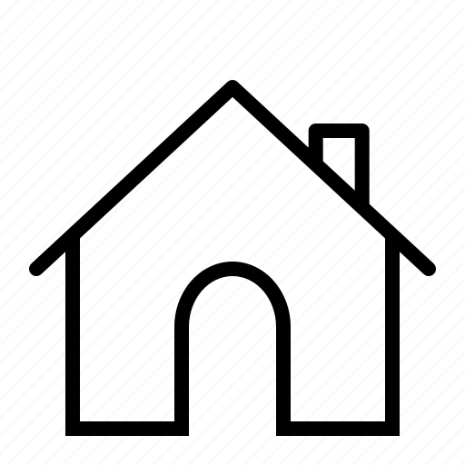 chimney, home, house, index icon