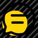 chat, communication, bubble, message