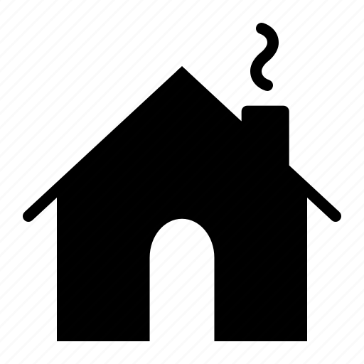 chimeney, home, house, index icon