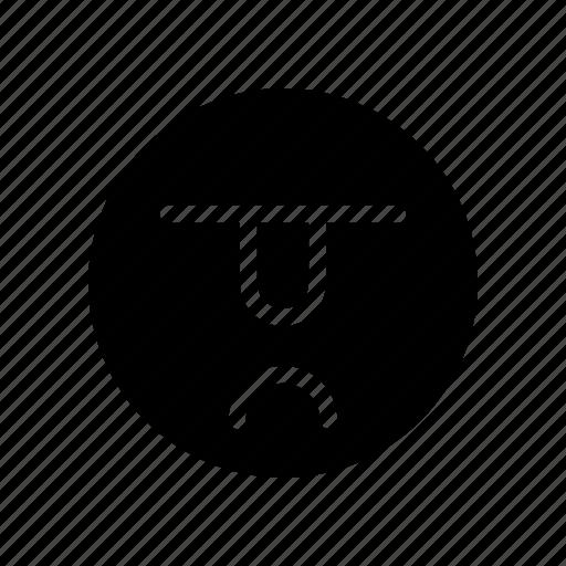 angry, emoji, emoticon, sad icon