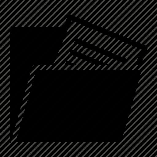 documents, file folder, folder, storage icon