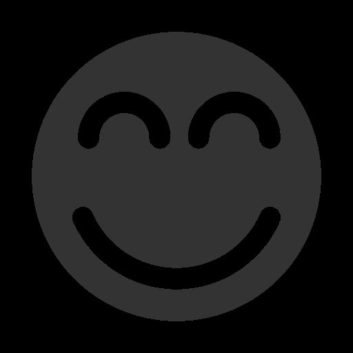 basic, smile, ui icon
