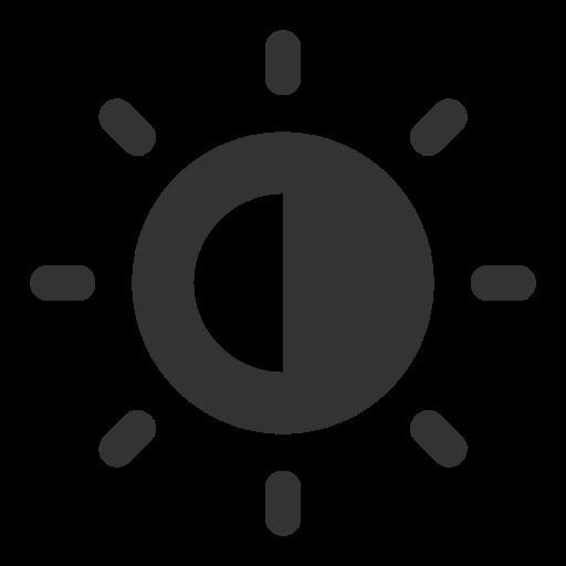 basic, brightness, ui icon