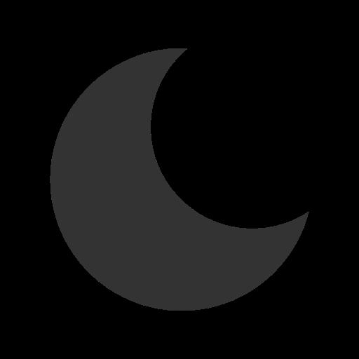 basic, moon, ui icon