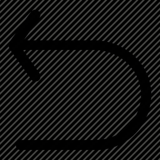 basic, return, ui icon