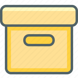 box, delivery, package, product, shipping, shopping, storage icon