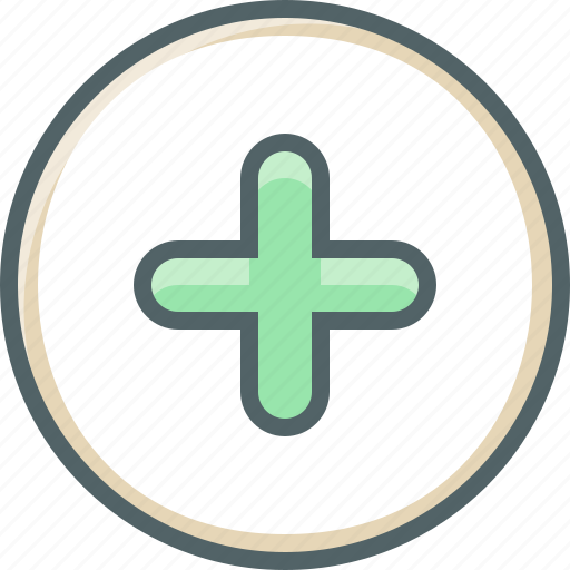 add, circle, create, new, plus icon