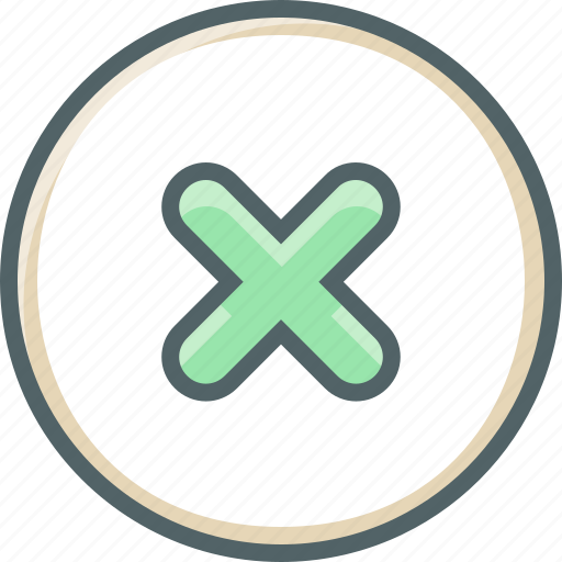 Circle, delete, cancel, close, cross, minus, remove icon - Download on Iconfinder