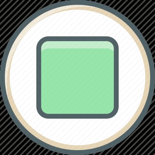 audio, circle, media, multimedia, music, sound, stop icon
