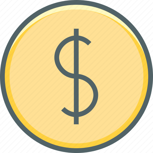 circle, coin, currency, dollar, finance, financial, money icon