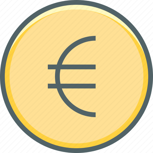circle, coin, currency, dollar, euro, money, payment icon
