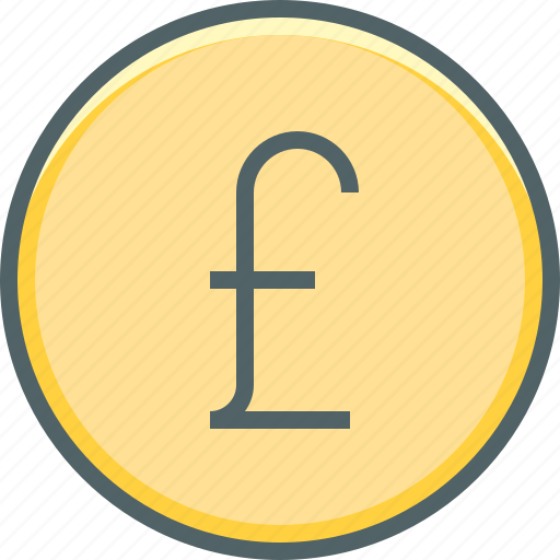cash, circle, coin, currency, financial, money, pound icon