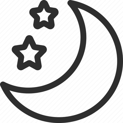 25px, iconspace, mode, night icon