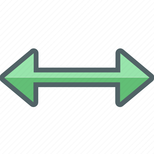 arrow, direction, left, navigation, right, vertical icon