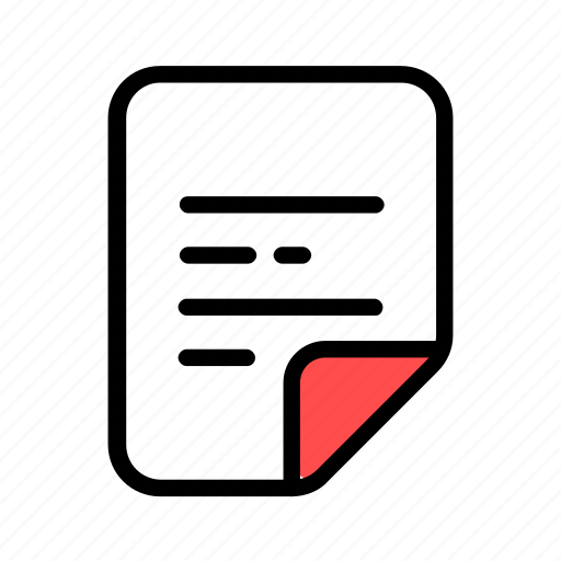 doc, document, file, page, text icon