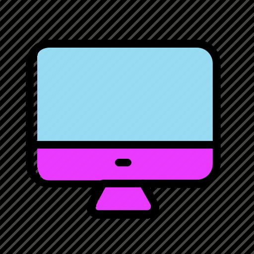 computer, desktop, monitor, pc, screen icon