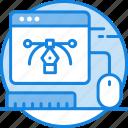 art, browser, creative, design, document, file, graphic design, graphic icon icon