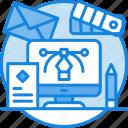 brand, branding, design, graphic design, logo, marketing, materials icon icon