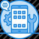 app development, app marketing, application development, software ... icon