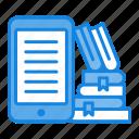 book, cloud, e-book, knowledge, online icon icon