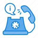 call, call now, communication, contact us, i, information, telephone icon icon